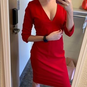 Lulus sexy red dress